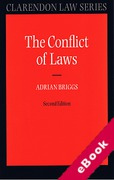 Cover of The Conflict of Laws (eBook)