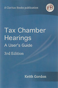 Cover of Tax Chamber Hearings: A User's Guide