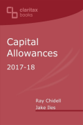 Cover of Capital Allowances: 2017-18