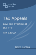 Cover of Tax Appeals: Law and Practice at the FTT