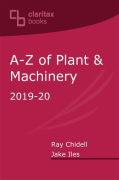 Cover of A-Z of Plant & Machinery 2019-20