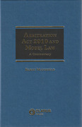 Cover of Arbitration Act 2010 and Model Law: A Commentary