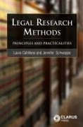 Cover of Legal Research Methods: Principles and Practicalities