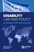Cover of Disability Law and Policy: An Analysis of the UN Convention