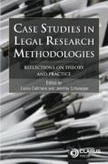 Cover of Case Studies in Legal Research Methodologies: Reflections on Theory and Practice