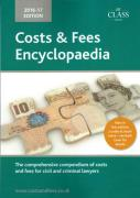 Cover of Costs and Fees Encyclopaedia 2016-2017
