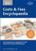 Cover of Costs and Fees Encyclopaedia 2017-2018