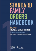 Cover of Standard Family Orders Handbook Volume 1: Financial and Enforcement