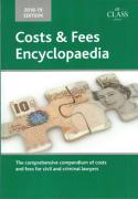 Cover of Costs and Fees Encyclopaedia 2018-19