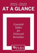 Cover of At A Glance 2021-22: Essential Tables for Financial Remedies