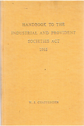 Cover of Handbook to the Industrial and Provident Societies Act 1965