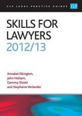 Cover of CLP Legal Practice Guides: Skills for Lawyers 2012/13