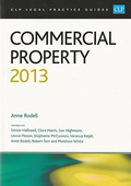 Cover of CLP Legal Practice Guides: Commercial Property 2013