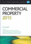Cover of CLP Legal Practice Guides: Commercial Property 2015