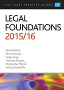 Cover of CLP Legal Practice Guides: Legal Foundations 2015/16