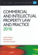 Cover of CLP Legal Practice Guides: Commercial and Intellectual Property Law and Practice 2016