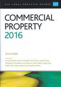 Cover of CLP Legal Practice Guides: Commercial Property 2016