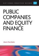 Cover of CLP Legal Practice Guides: Public Companies and Equity Finance 2017