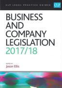 Cover of CLP Legal Practice Guides: Business and Company Legislation 2017/18