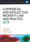 Cover of CLP Legal Practice Guides: Commercial and Intellectual Property Law and Practice 2018
