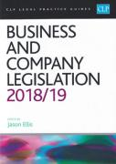 Cover of CLP Legal Practice Guides: Business and Company Legislation 2018/19