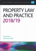 Cover of CLP Legal Practice Guides: Property Law and Practice 2018/19