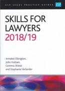 Cover of CLP Legal Practice Guides: Skills for Lawyers 2018/19