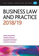 Cover of CLP Legal Practice Guides: Business Law and Practice 2018/19 (eBook)