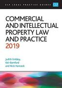 Cover of CLP Legal Practice Guides: Commercial and Intellectual Property Law and Practice 2019