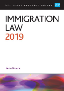 Cover of CLP Legal Practice Guides: Immigration Law 2019