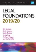 Cover of CLP Legal Practice Guides: Legal Foundations 2019/20