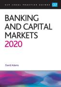 Cover of CLP Legal Practice Guides: Banking and Capital Markets 2020