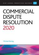 Cover of CLP Legal Practice Guides: Commercial Dispute Resolution 2020