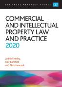 Cover of CLP Legal Practice Guides: Commercial and Intellectual Property Law and Practice 2020