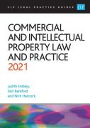 Cover of CLP Legal Practice Guides: Commercial and Intellectual Property Law and Practice 2021