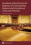 Cover of Handbook of Best Practices for Registrars of Final/Appellate, Regional and International Courts and Tribunals