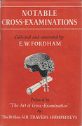 Cover of Notable Cross-Examinations