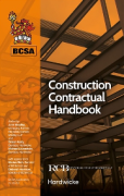 Cover of BCSA Construction Contractual Handbook