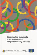 Cover of Discrimination on Grounds of Sexual Orientation and Gender Identity in Europe