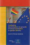Cover of Combating Discrimination on Grounds of Sexual Orientation or Gender Identity - Council of Europe Standards