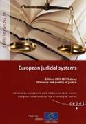 Cover of European Judicial Systems: Efficiency and Quality of Justice 2012 (Data 2010)