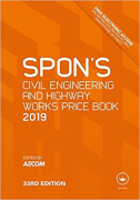 Cover of Spon's Civil Engineering and Highway Works Price Book 2019