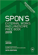Cover of Spon's External Works and Landscape Price Book 2019