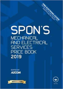 Cover of Spon's Mechanical and Electrical Services Price Book 2019