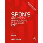 Cover of Spon's Architects and Builders Price Book 2021