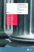 Cover of Solicitors: An Industry Accounting and Auditing Guide