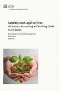 Cover of Solicitors and Legal Services: An Industry Accounting and Auditing Guide