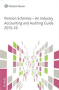 Cover of Pension Schemes: A CCH Industry Accounting and Auditing Guide 2015-16