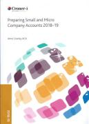 Cover of Preparing Small and Micro Company Accounts 2018-19