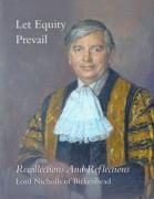 Cover of Let Equity Prevail: Recollections and Reflections